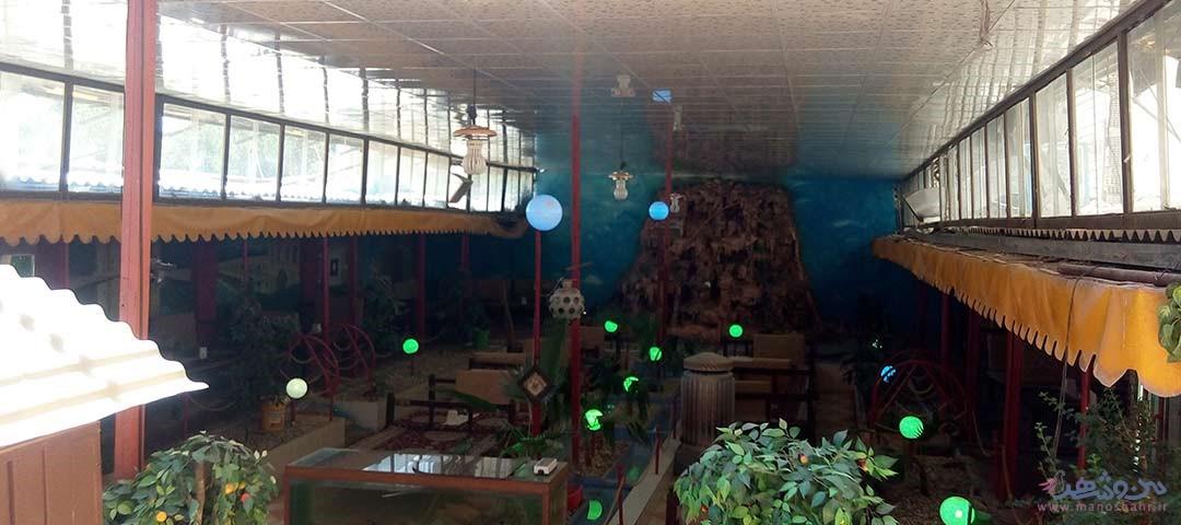 رستوران شاندیز اتشگاه اصفهان