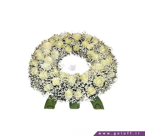 تاج گل - تاج گل عروسی - تاج گل تسلیت - فروش تاج گل | گل آف