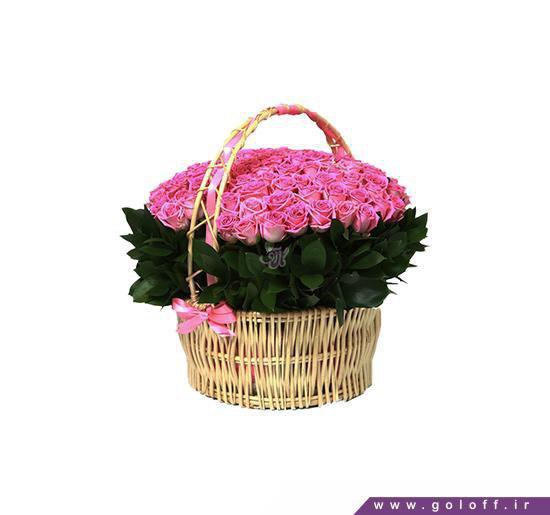 سبد گل - سبد گل زیبا - سبد گل رز - سبد گل خواستگاری | گل آف