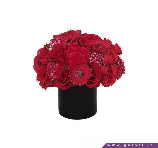 جعبه گل - جعبه گل رز - خرید جعبه گل - جعبه گل ولنتاین | گل آف