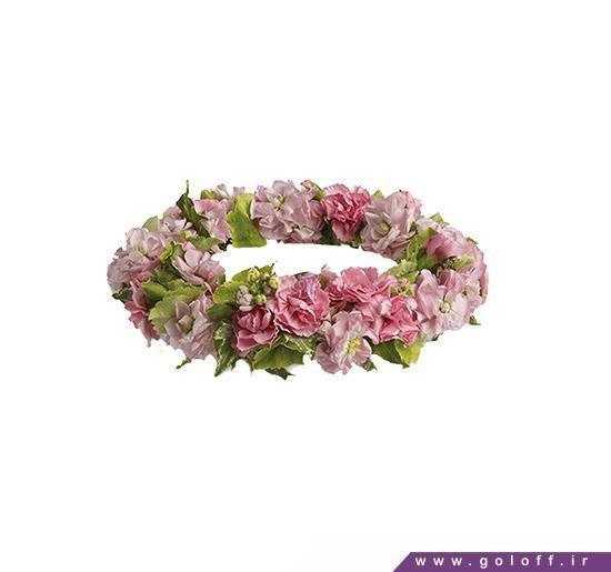 تاج گل سر - تاج گل سر عروس - تاج گل سر طبیعی | گل آف