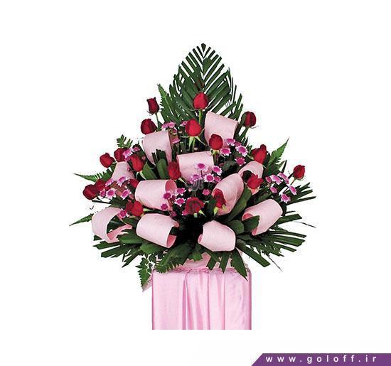 سبد گل رز خواستگاری | گل آف