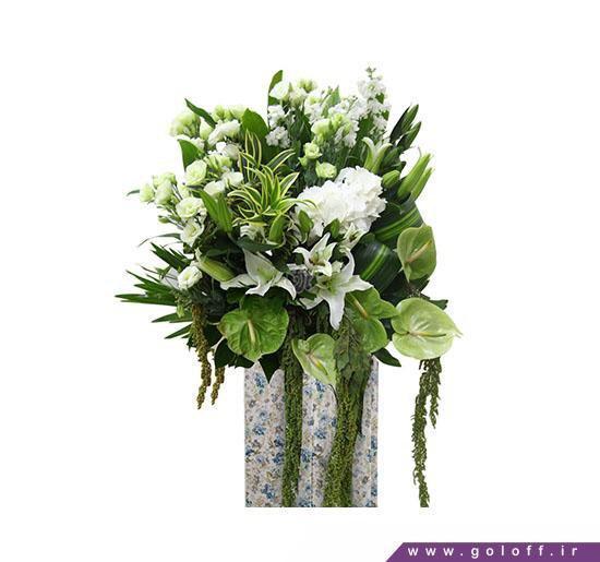 سبد گل خواستگاری شیک | گل آف