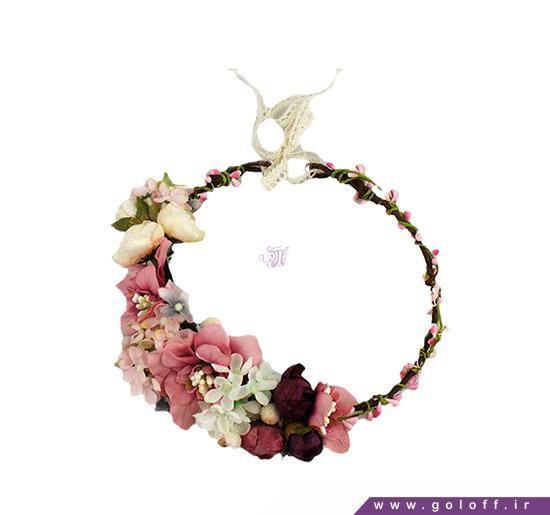 تاج گل عروس - تاج گل سر - عکس تاج گل عروس | گل آف
