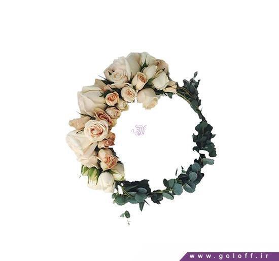 مدل تاج گل نامزدی - خرید اینترنتی گل | گل آف