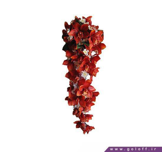 دسته گل ارکیده عروس   گل آف