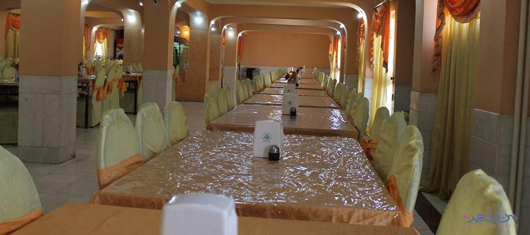 تالار یاس سفید اصفهان - مراسم عروسی