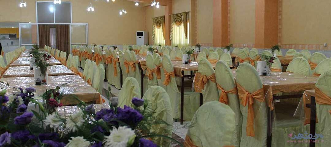 تالار یاس سفید اصفهان سالن پذیرایی 2