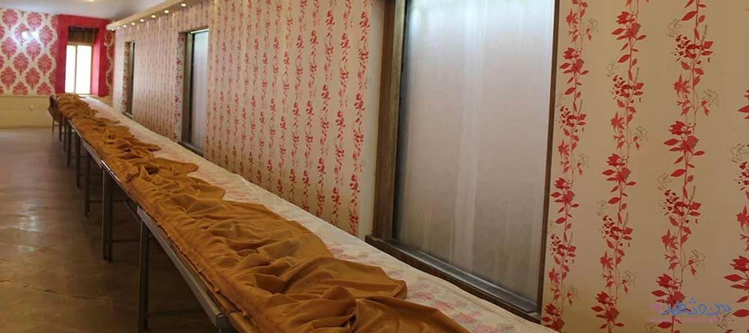 تالار یاس سفید اصفهان سالن غذاخوری2