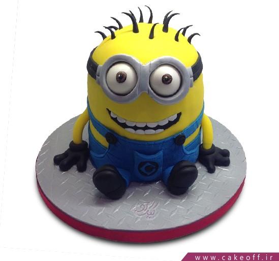 کیک مینیون بازیگوش