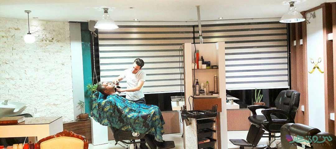 آرایشگاه مردانه هنر دست