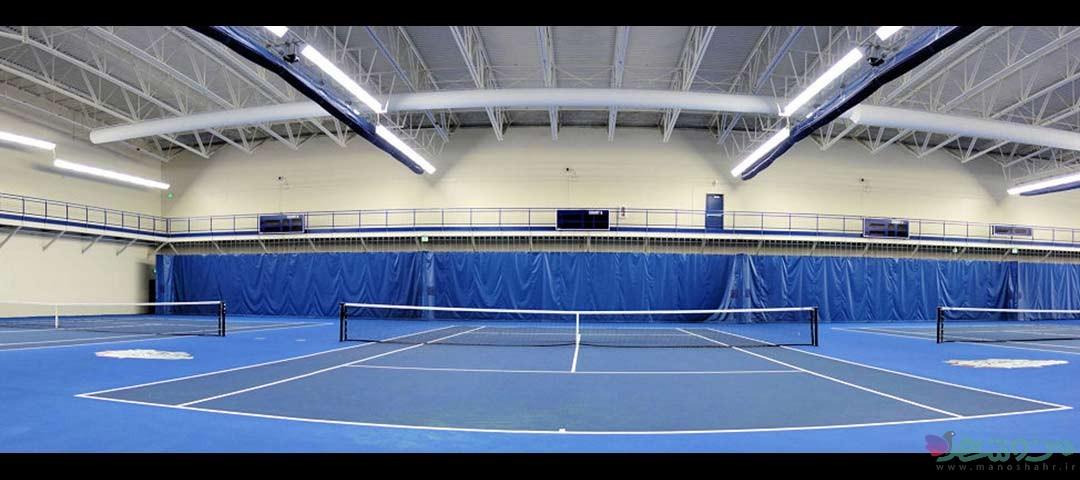 سالن تنیس مجموعه  ورزشی پردیس