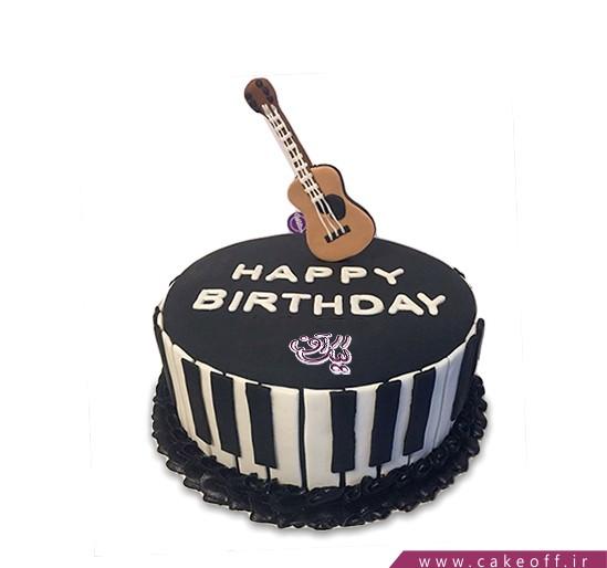 کیک تولد گیتار