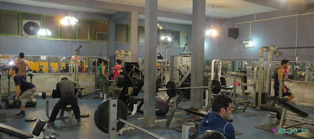 باشگاه بدنسازی عقاب طلایی اصفهان