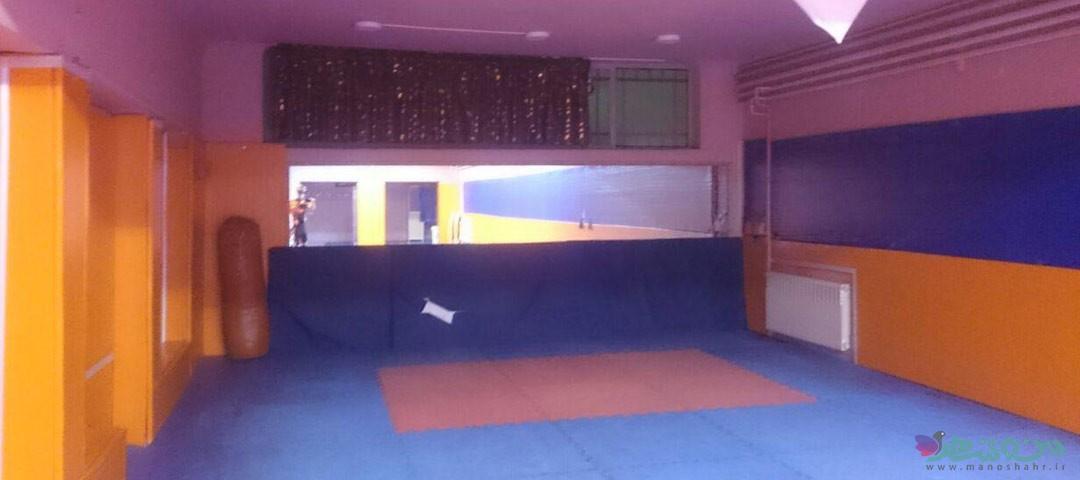 سالن رزمی ورزشگاه کردآباد