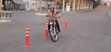 آموزشگاه رانندگی موتور سیکلت آبشار
