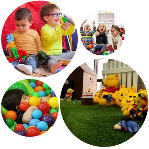خانه بازی و خلاقیت کودک برتر