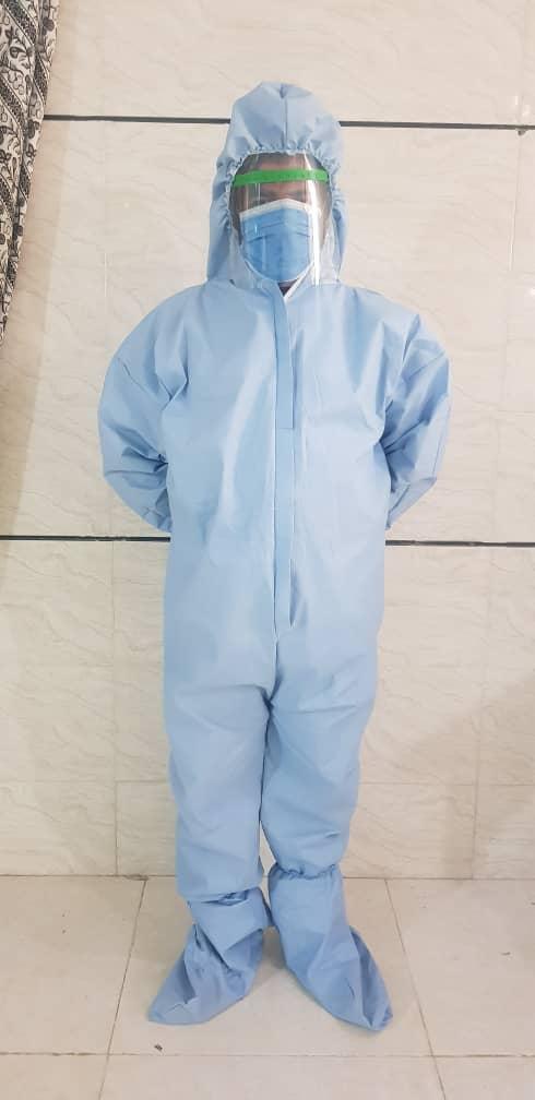 لباس بیلر ضد آب تنفسی سه لایه