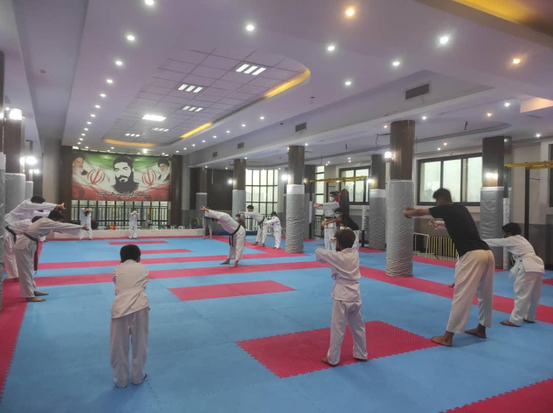 آموزش کاراته آقایان